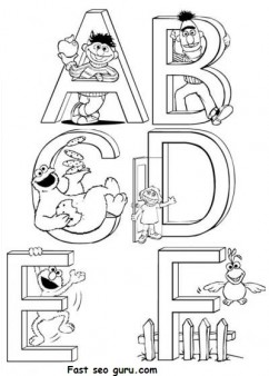 Preschool kindergarten Alphabet worksheets