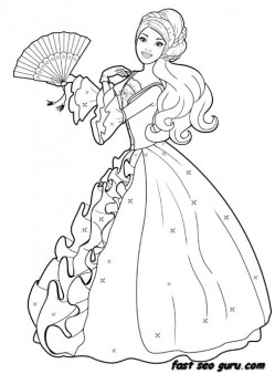 Disney Princess Dress Up Coloring Pages Coloring Pages