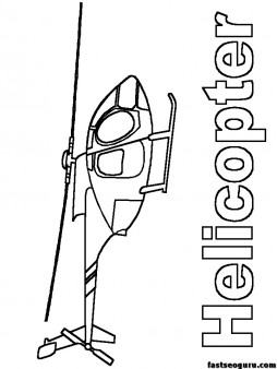 free printable coloring pages military Helicopters