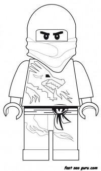 Printable Lego Ninjago coloring pages