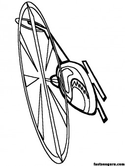 Print out coloring pages Helicopters for kids