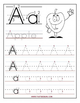 printable letter a tracing worksheets for preschool  printable  printable letter a tracing worksheets for preschool