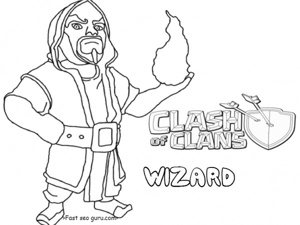 how to draw an archer from clash of clans
