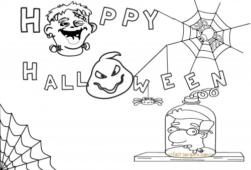 Printable halloween party invitations mussolini van houten