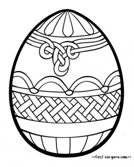 Easter egg decorating coloring pages ideas for adults