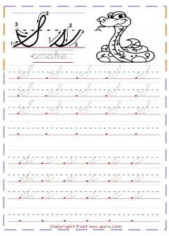 Cursive handwriting tracing worksheets letter s for snake cursive handwriting tracing worksheets letter s for snake spiritdancerdesigns Choice Image