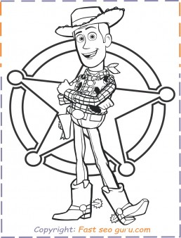 Toy Story 4 Coloring Pages - GetColoringPages.com | 338x258
