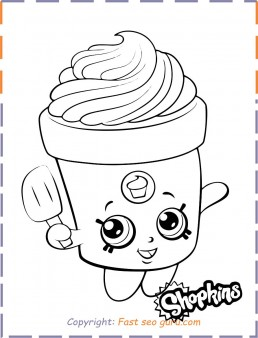 Shopkins Shoppies Coloring Pages - GetColoringPages.com | 338x258