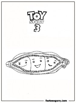 Grandchildren Pois Peas In A Pod Coloring Page
