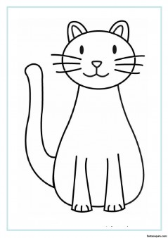 picture relating to Cat Printable identify Printable Cat coloring internet pages for small children - Printable Coloring