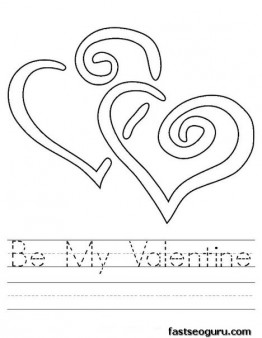 Worksheets Free Printable Valentine Worksheets printable be my valentine worksheet coloring page page