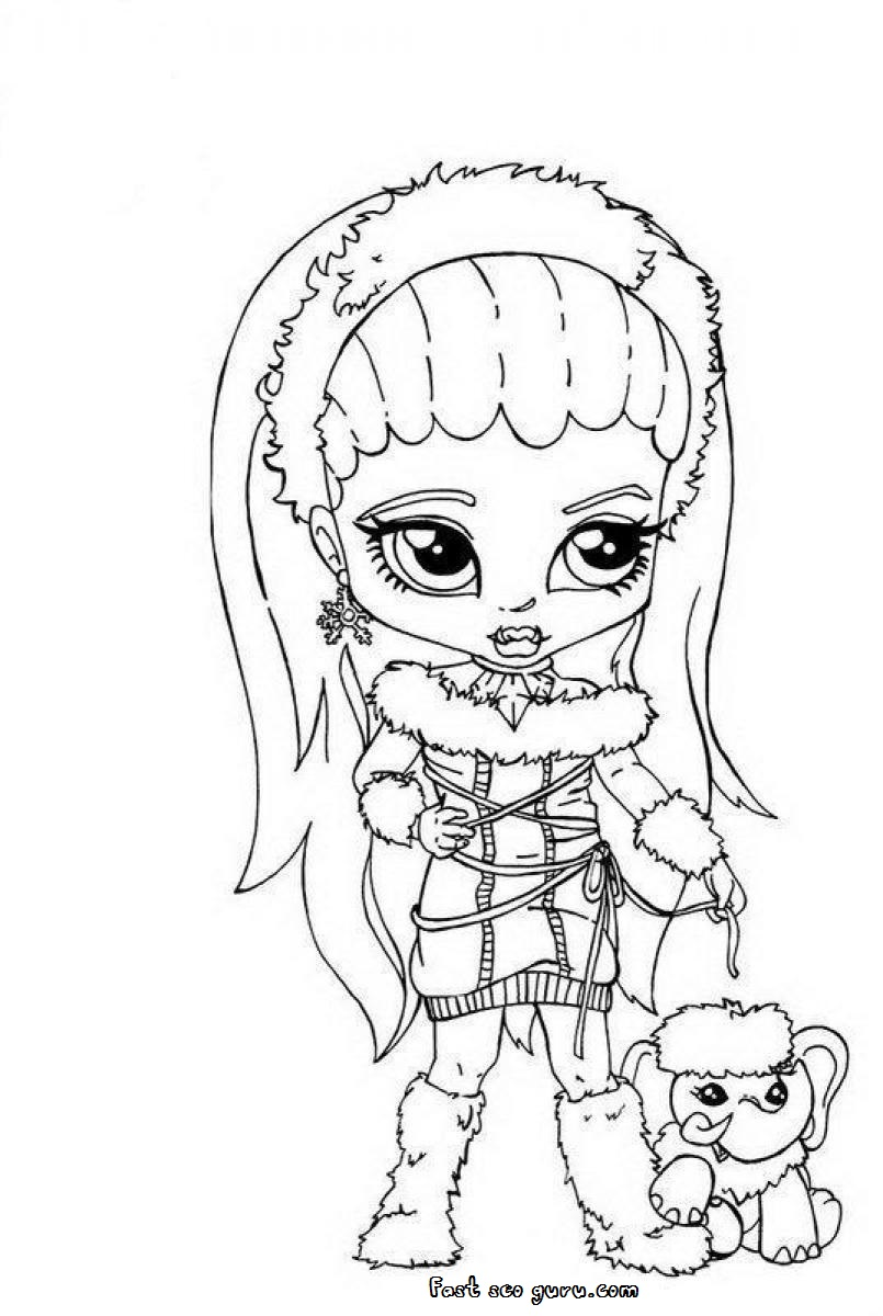 abbey bominable coloring pages - photo#21