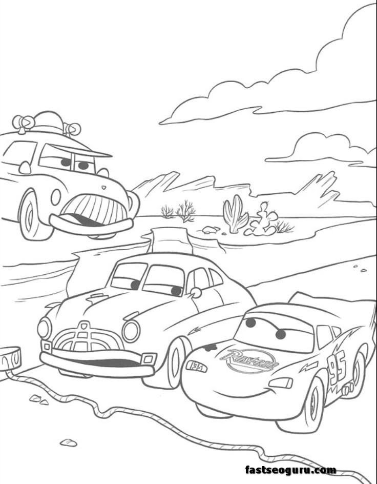 Cars 2 Colouring Pages To Print Sheriff Police Coloring Car Pictures Canyon