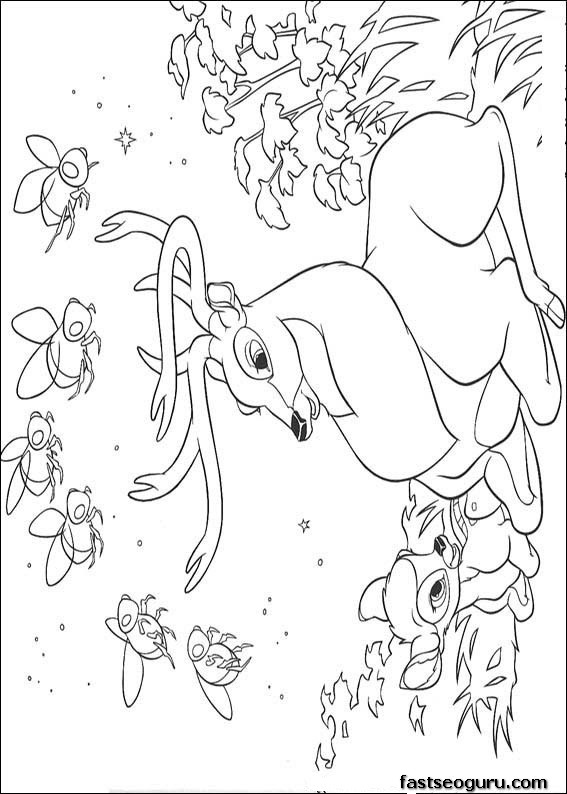Snap Bambi coloring pages and the great prince ColoringStar photos ...