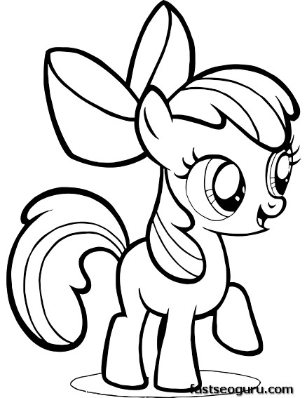 Printable My Little Pony Friendship Is Magic Pinkie Pie ...