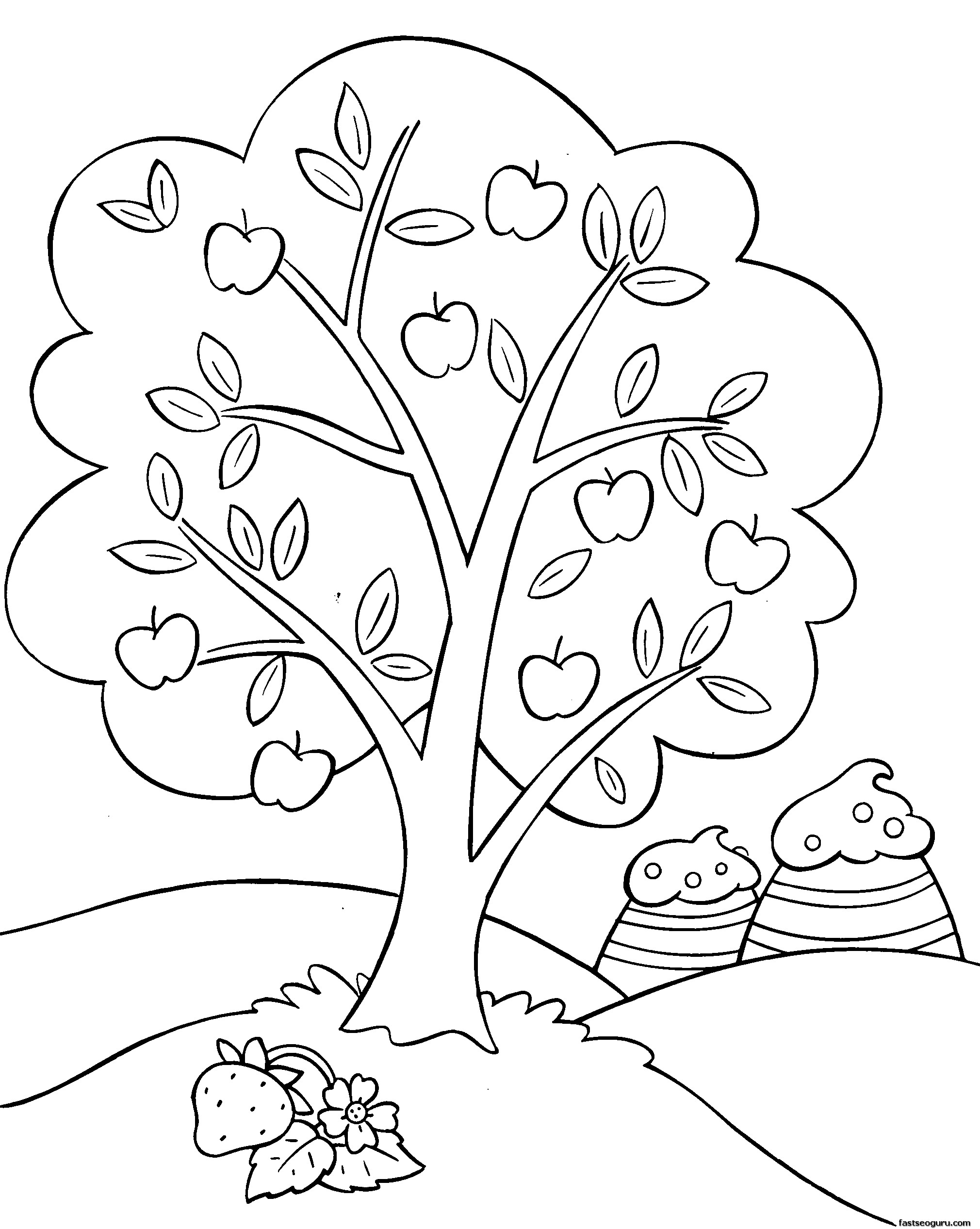 strawberry girl coloring pages - printable cartoon strawberry shortcake coloring pages for