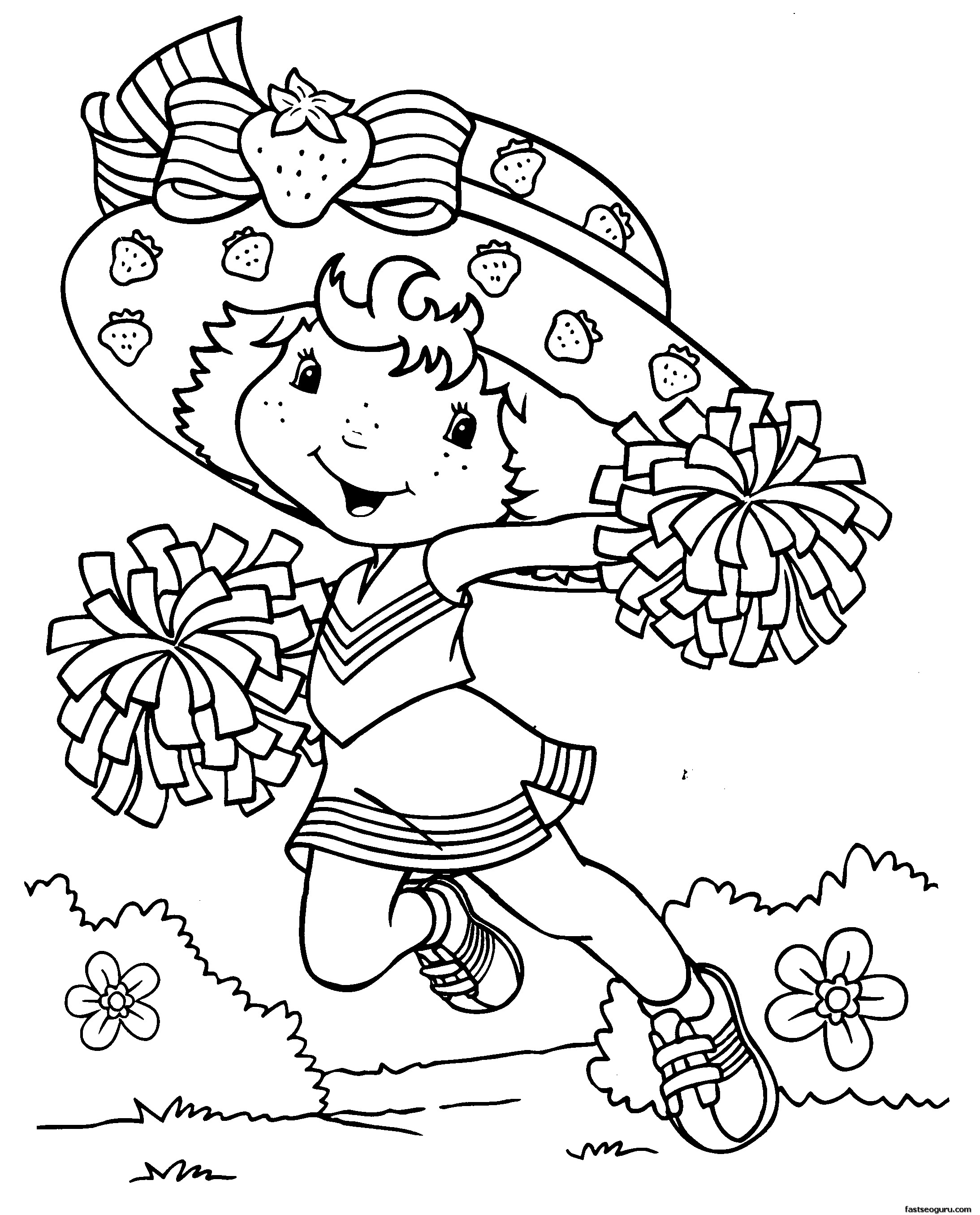 print cartoon coloring pages - photo#26