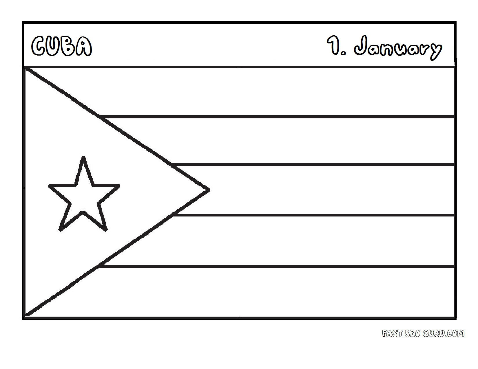 flags printable coloring pages