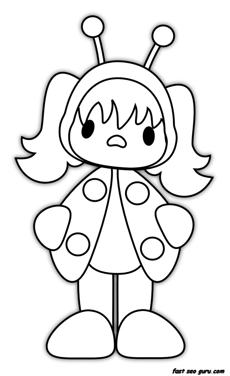 ladybug girl coloring pages - ladybug girl coloring pages