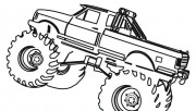 Printable Monster Truck c…