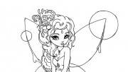 Printable beautiful Fairy…