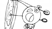 kids coloring pages airplane print out online