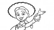 Printabel Toy story 3 Jessie print coloring pages