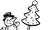 printable christmas cake cup coloring pages