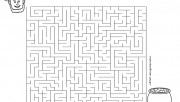 Free Printable St patricks day maze