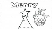 Print out christmas tree …