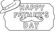Printable father day hat …
