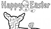 Print out easter mazes pu…