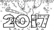 New Years 2017 coloring p…