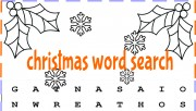 Print out christmas word …