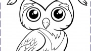 owl coloring pages printa…