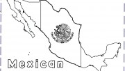 mexican map coloring pages for kids