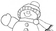 Christmas Happy Snowman c…
