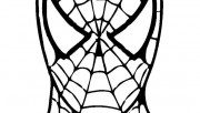 spiderman face drawing to…