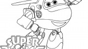 Super Wings Jett pages to…