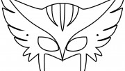 mask wolverine coloring p…