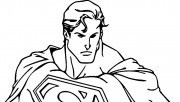 colouring pages of superm…