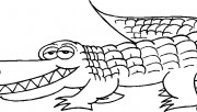 Free alligator coloring pages printable for kids