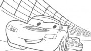 Printable coloring pages mcqueen rac car 2 movies