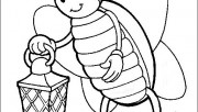 fire fly coloring pages k…