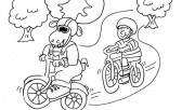 kids coloring pages Moose…