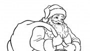 Santa Claus with Christma…