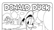 Coloring pages for kids Mickey Mouse Clubhouse Donald Duck