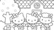 Hello Kitty Friends print…