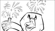 Pirnt out Madagascar 3 Alex coloring pages
