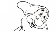 Printable coloring pages 7 Dwarf Disney